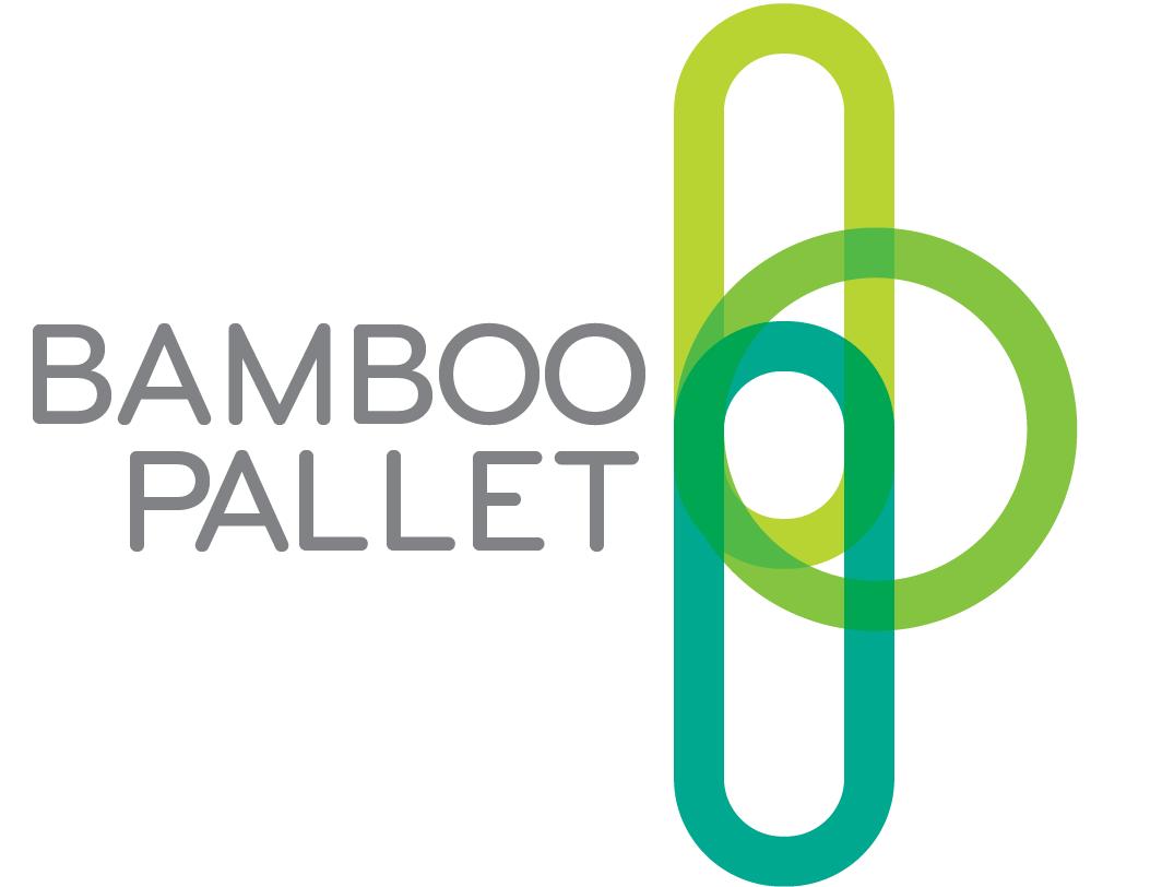 Tarimas o pallets  elaboradas de bambú.